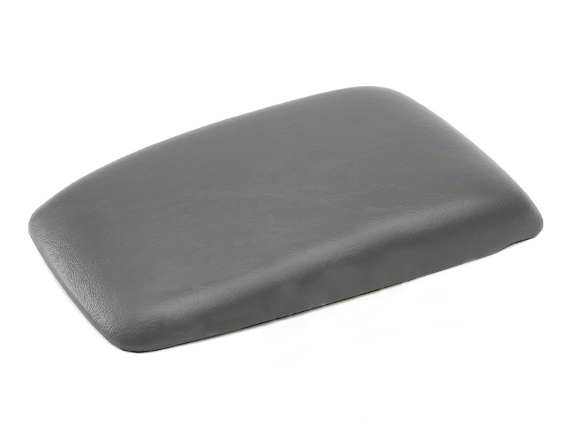 OPR Center Console Arm Rest Pad - Titanium Gray (87-93 All)