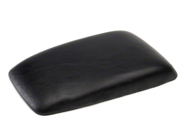 OPR Center Console Armrest Pad; Black (87-93 All)
