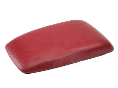 OPR Center Console Arm Rest Pad - Red (87-93 All)