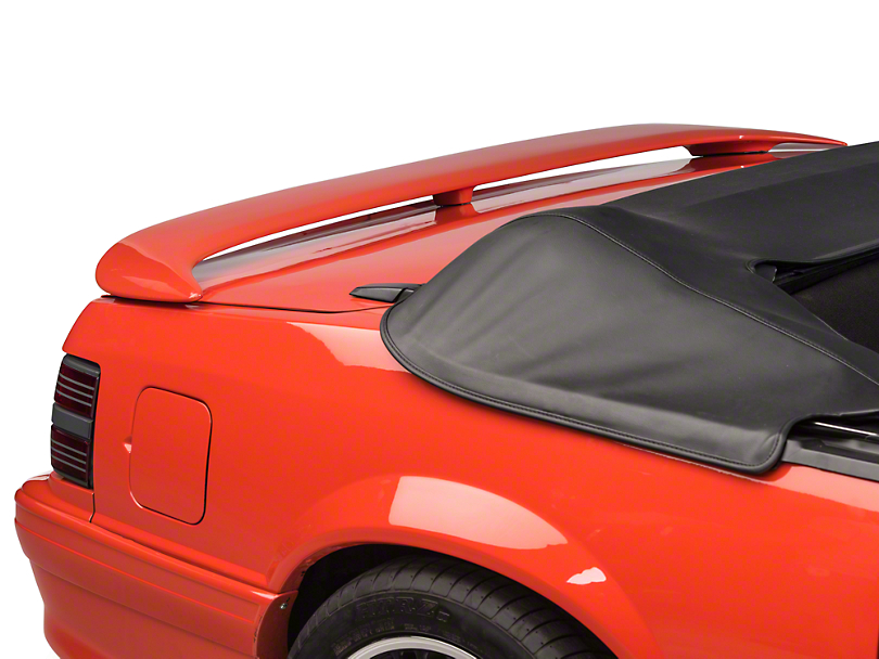 SpeedForm Sport Wing Spoiler - Unpainted (79-93 Coupe, Convertible)