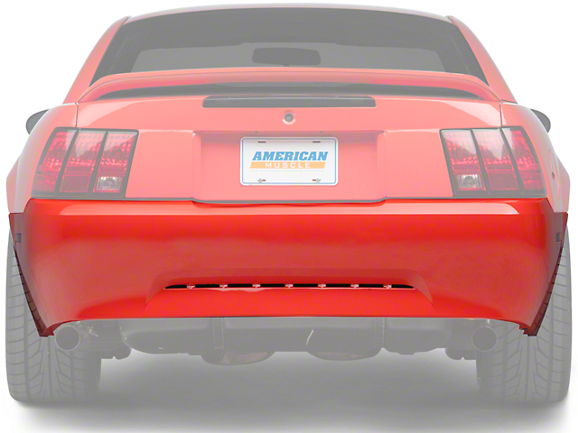opr mustang rear bumper cover primed 94422 99 04 v6