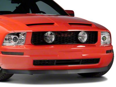 Add GT Style Pony Delete Grille w/ Fog Lights (Only Fits V6)