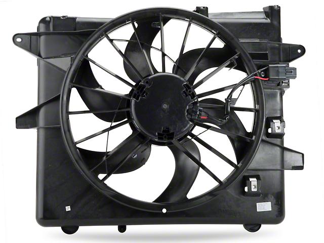 OPR Radiator Fan and Shroud Assembly (10-12 GT, V6)