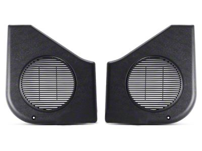 OPR Black Door Speaker Covers - Pair (87-93 All)