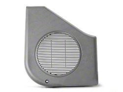 OPR Door Speaker Covers; Titanium Gray (87-93 All)