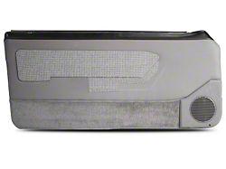 OPR Door Panels w/ Power Windows & Carpeting - Titanium Gray (87-93 Coupe, Hatchback)