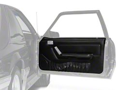 OPR Door Panels w/ Power Windows & Map Pockets - Black (87-93 Coupe, Hatchback)
