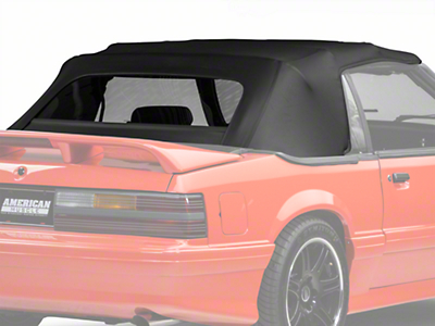 OPR Replacement Convertible Top - Black (91-93 All)