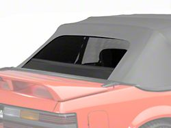 OPR Replacement Convertible Rear Window Glass - Black (83-93 Convertible)