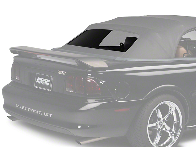 OPR Replacement Convertible Tinted Rear Window Glass; Black (94-04 Convertible)