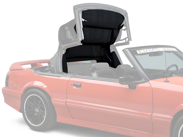OPR Replacement Convertible Top Headliner; Black (83-93 Convertible)