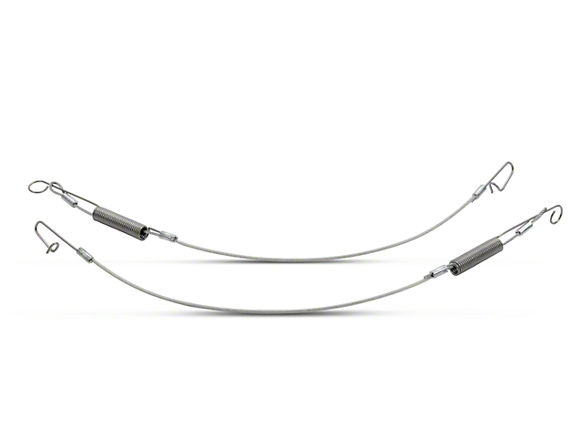 OPR Convertible Top Rear Flap Cables (94-04 Convertible)