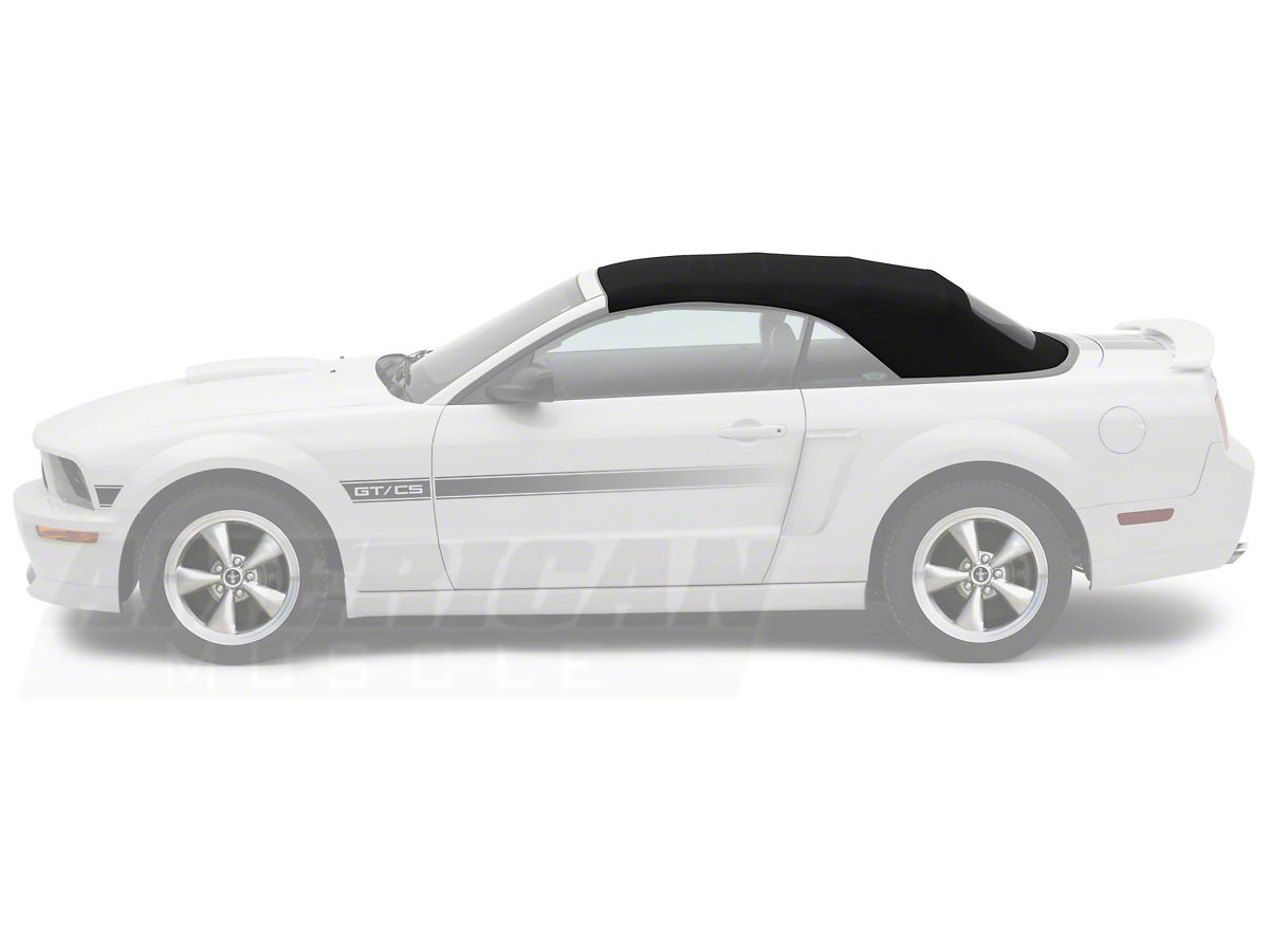 Opr Replacement Convertible Top Heated Rear Gl Pinpoint Vinyl Black 05 14