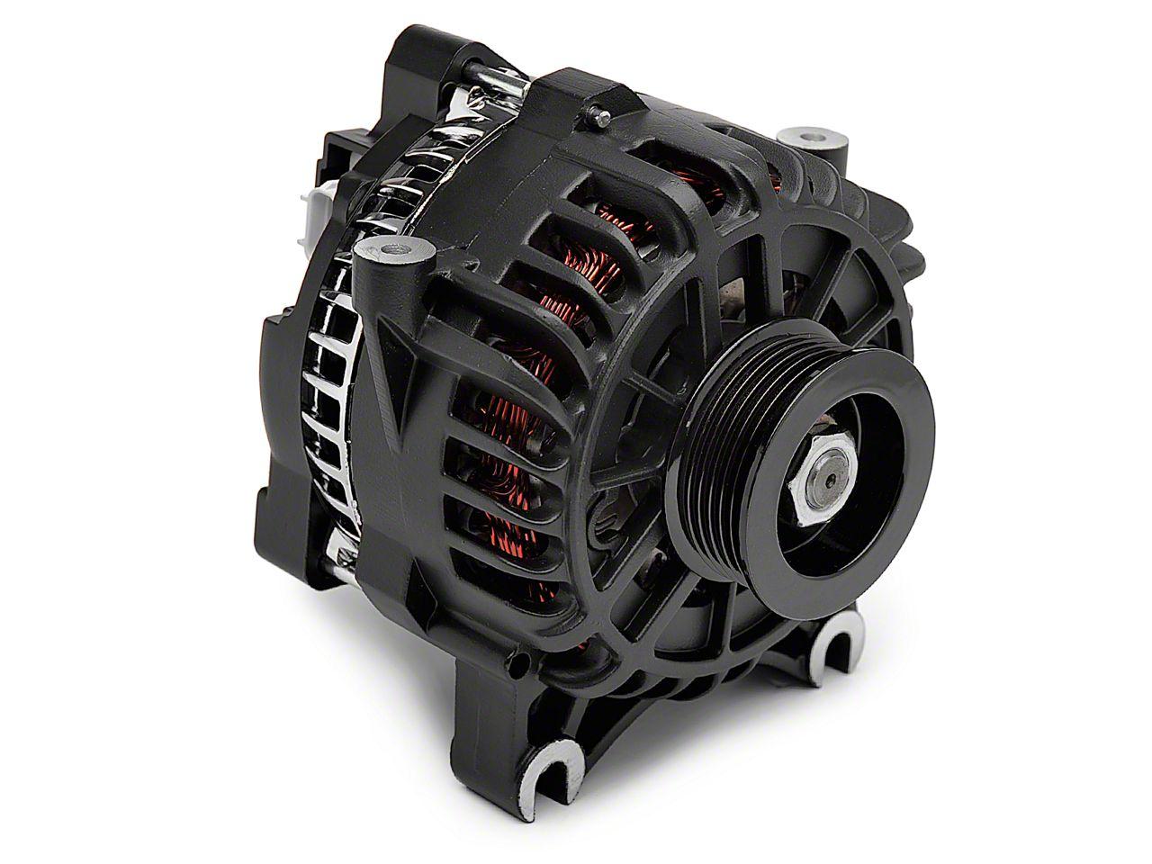 PA Performance Alternator - 130 Amp Flat Black (05-08 GT)
