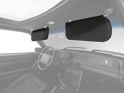 OPR Cloth Sun Visors - Black (83-93 Coupe, Hatchback)