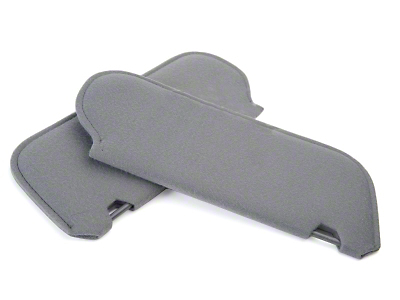 OPR Cloth Sun Visors - Smoke Gray (87-89 Coupe, Hatchback)