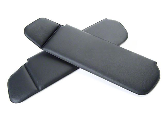 OPR Mustang Vinyl Sun Visors - Black 95505 (83-93 Convertible) c7e179def85