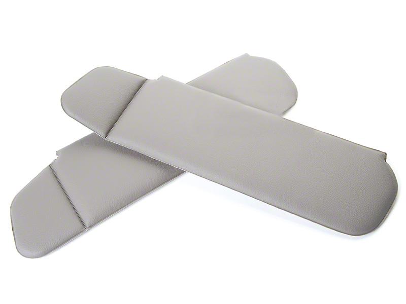 OPR Vinyl Sun Visors - Titanium Gray (90-92 Convertible)