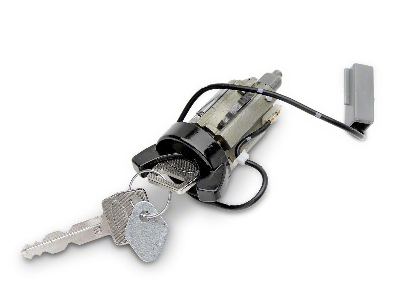 OPR Ignition Lock Cylinder - Black (84-89 All)