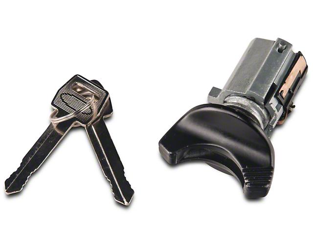 OPR Ignition Lock Cylinder; Black (94-95 All)