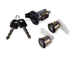 OPR Ignition & Door Lock Set - Black (94-95 All)