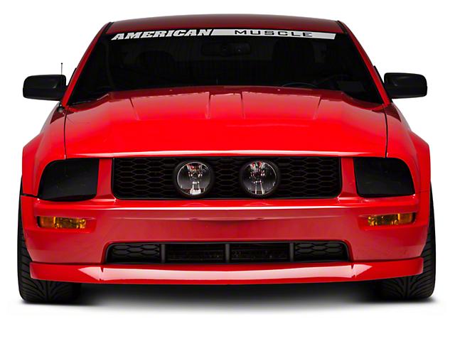 SpeedForm SVT Style Hood; Unpainted (05-09 GT, V6)