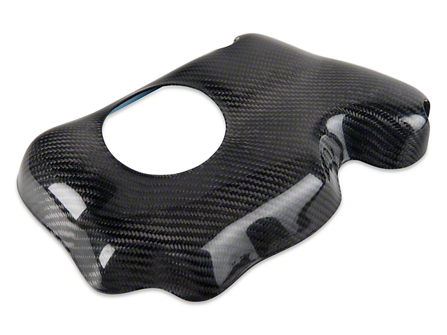 SpeedForm Carbon Fiber Coolant Reservoir Cover (05-14 GT, V6)