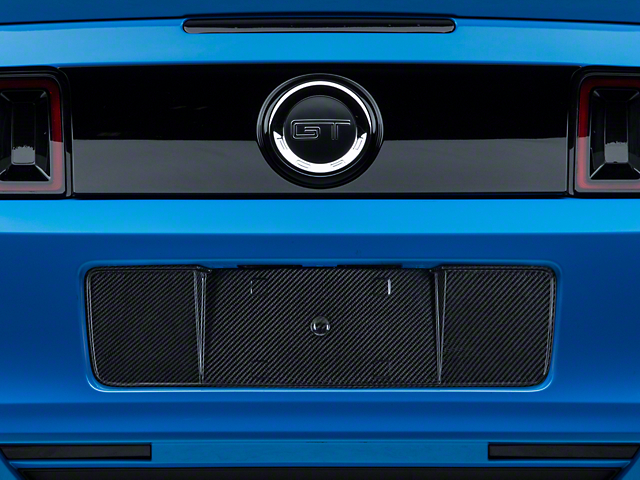 SpeedForm Carbon Fiber License Plate Panel (13-14 All)