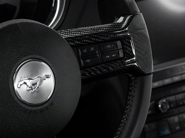 SpeedForm Carbon Fiber Steering Wheel Spoke Accents (10-14 All)