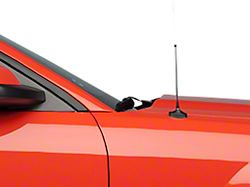 SpeedForm Fixed Black Antenna; 8 Inch (05-09 All)