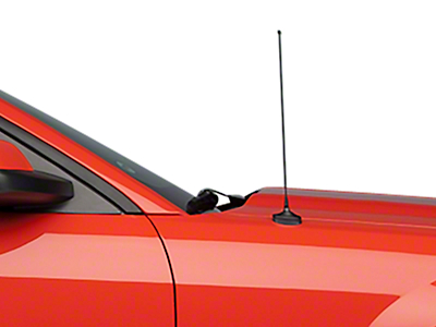 SpeedForm Fixed Black Antenna - 14 in. (05-09 All)
