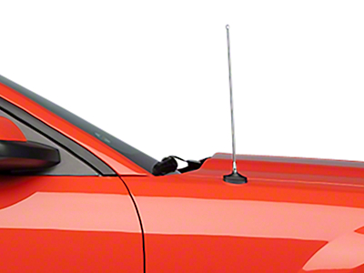 SpeedForm Fixed Chrome Antenna - 14 in. (05-09 All)