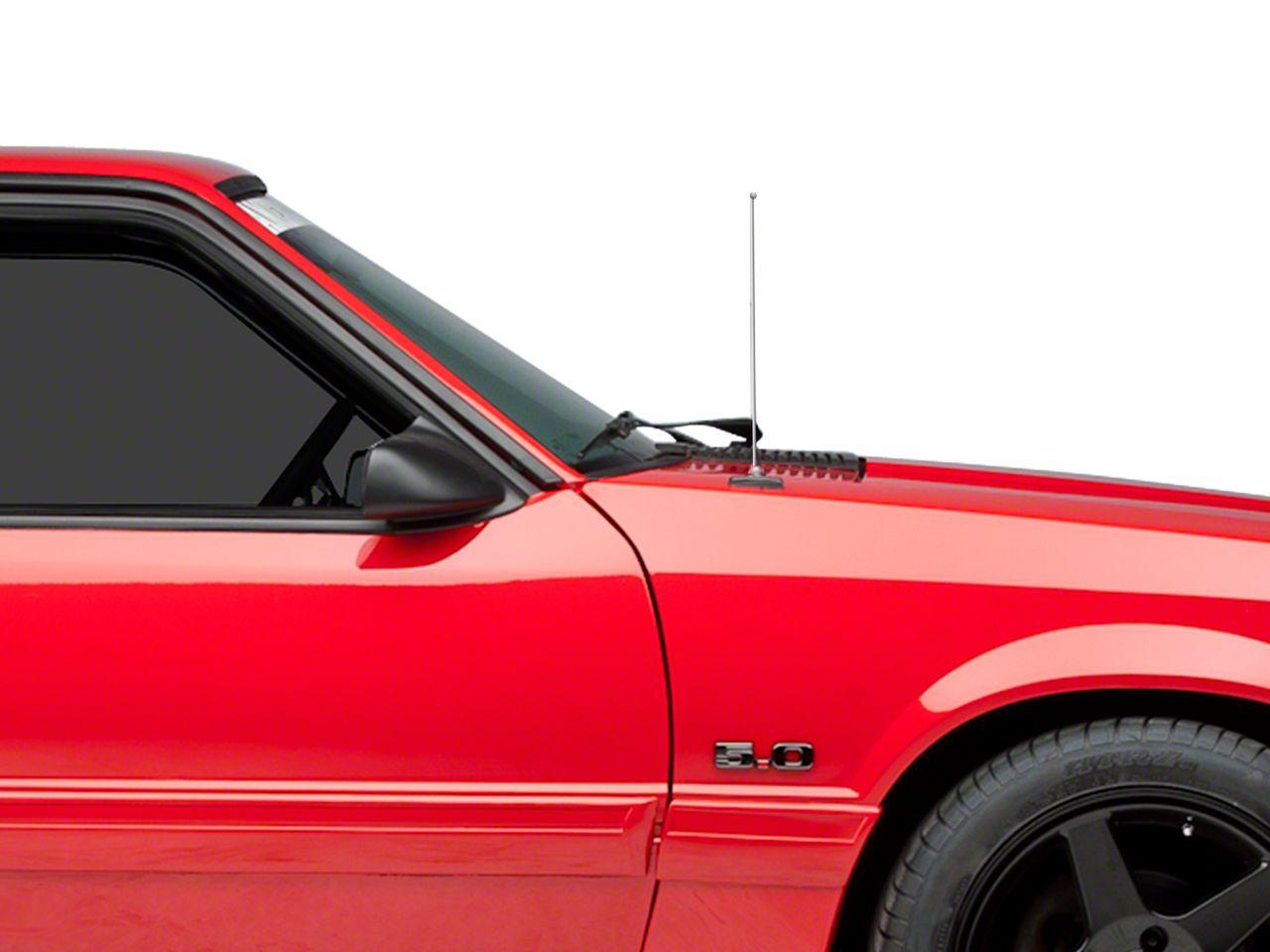 SpeedForm Fixed Chrome Antenna - 14 in. (79-93 All)
