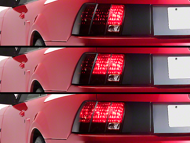 Axial Sequential Tail Light Kit - Cut-and-Splice (96-04 All; Excluding 99-01 Cobra)