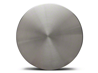 Silver Brushed Center Cap - Large