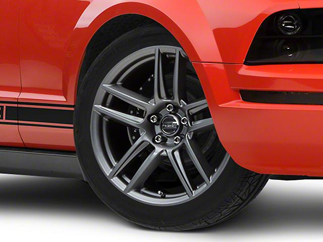 Laguna Seca Style Charcoal Wheel - 19x9 (05-14 All)