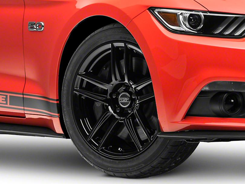 Laguna Seca Style Black Wheel - 19x9 (15-19 GT, EcoBoost, V6)