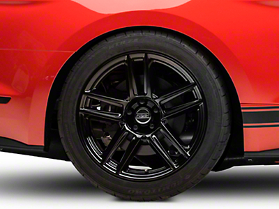 Laguna Seca Style Black Wheel - 19x10 (15-18 All)