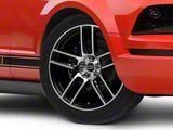 Laguna Seca Style Black Machined Wheel; 19x9 (05-09 All)