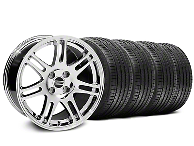10th Anniversary Cobra Style Chrome Wheel & Sumitomo Tire Kit - 17x9 (87-93 All, Excluding Cobra)
