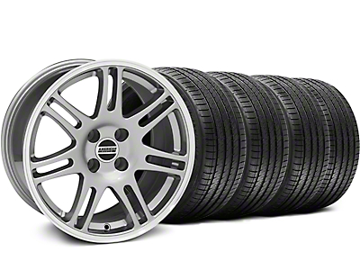 10th Anniversary Cobra Style Anthracite Wheel & Sumitomo Tire Kit - 17x9 (87-93 All, Excluding 1993 Cobra)