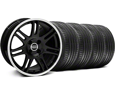 10th Anniversary Cobra Style Black Wheel & Sumitomo Tire Kit - 17x9 (87-93 All, Excluding Cobra)