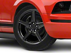 Saleen Style Black Wheel - 19x8.5 (05-09 GT, V6)