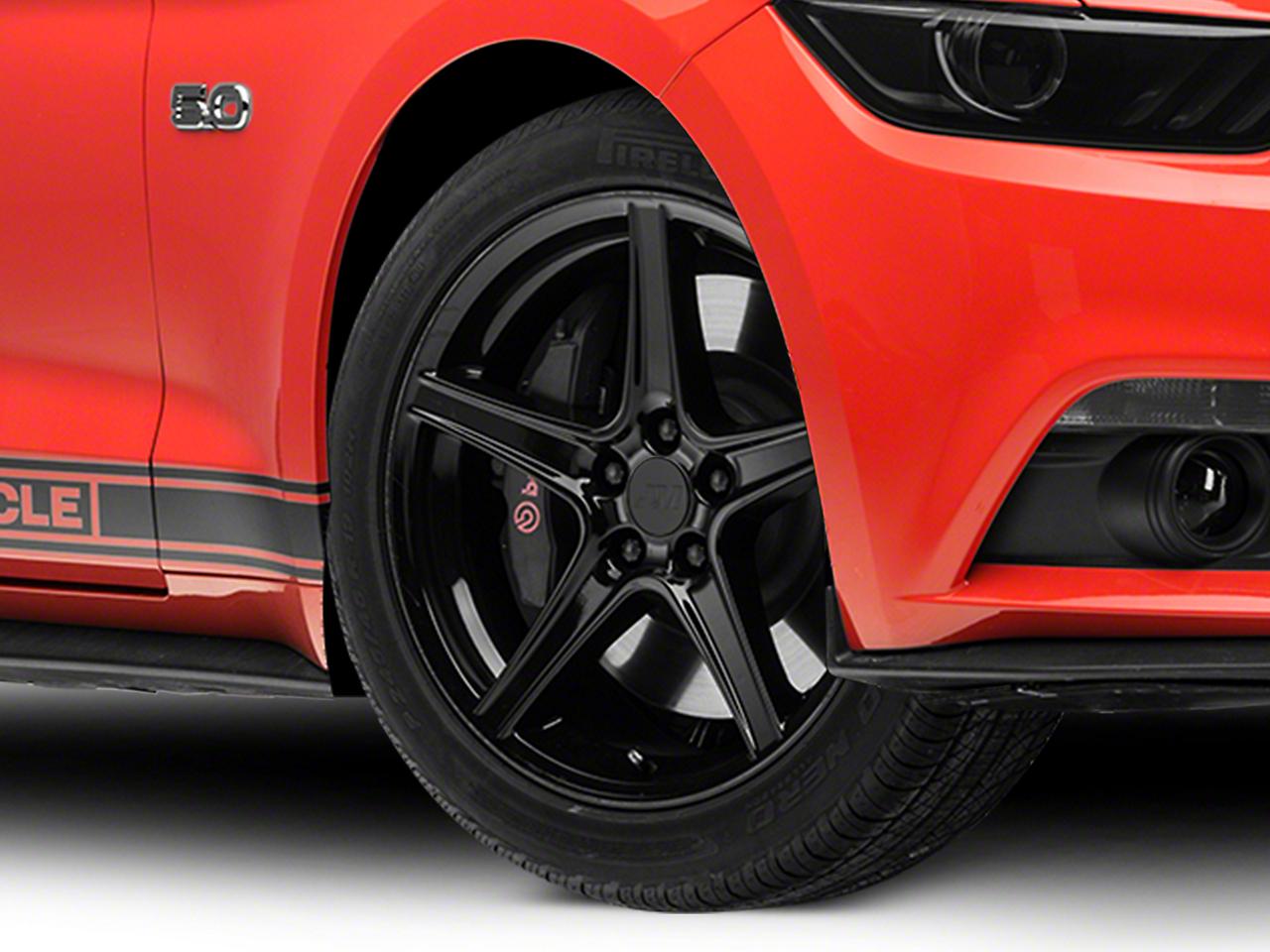 Saleen Style Black Wheel - 19x8.5 (15-19 EcoBoost, V6)