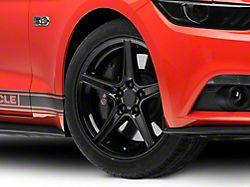 Saleen Style Black Wheel; 19x8.5 (15-20 EcoBoost, V6)