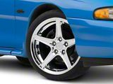 Saleen Style Chrome Wheel; 19x8.5 (94-98 All)