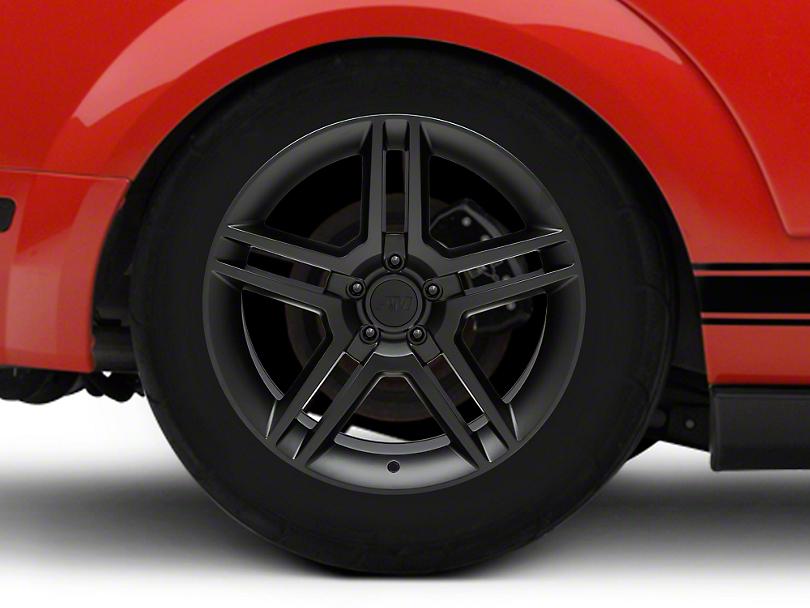 2010 GT500 Style Matte Black Wheel - 18x10 - Rear Only (05-14 All)