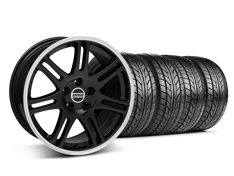 10th Anniversary Cobra Style Black Wheel & NITTO Tire Kit - 17x9 (94-98 All)