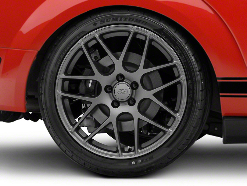 AMR Charcoal Wheel - 20x10 - Rear Only (05-14 All)