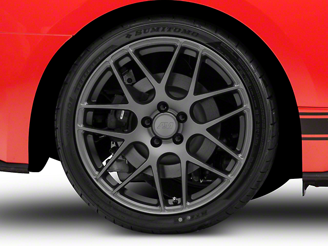 AMR Charcoal Wheel - 20x10 - Rear Only (15-20 GT, EcoBoost, V6)